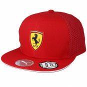 Keps Kids Scuderia Ferrari LECLERC Red Snapback - Formula One - Röd Barnkeps