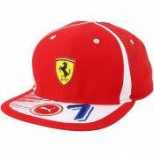 Keps Kimi Räikkönen Red Snapback - Ferrari - Röd Snapback