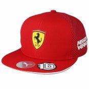 Keps Scuderia Ferrari LECLERC Red Snapback - Formula One - Röd Snapback