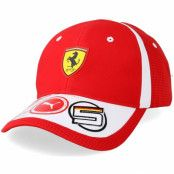 Keps Sebastian Vettel Red Adjustable - Ferrari