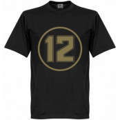 Lotus No12 Retro T- T-shirt Retro Lotus No12 Retro Svart XS
