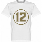 Lotus No12 Retro T- T-shirt Retro Lotus No12 Retro Vit XS