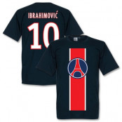 Paris St Germain T-shirt Ibrahimovic Mörkblå S