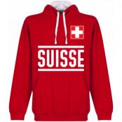 Schweiz Huvtröja Team Röd-Vit S