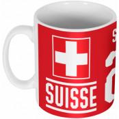 Schweiz Mugg Shaqiri 23 Team Vit