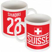 Schweiz Mugg Shaqiri Team Röd