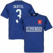 Slovakien T-shirt Skrtel Team Blå L