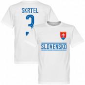Slovakien T-shirt Skrtel Team Vit XS