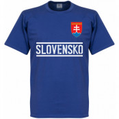 Slovakien T-shirt Team Blå S