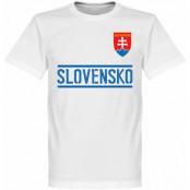 Slovakien T-shirt Team Vit XS