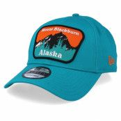 Keps USA Patch 9Forty Alaska Teal Adjustable - New Era - Grön Reglerbar