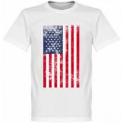 USA T-shirt Football Vit XS
