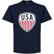 USA T-shirt Mörkblå S