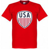 USA T-shirt Röd XS