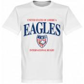 USA T-shirt Rugby Vit XS
