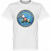USA T-shirt Tim Howard Secretary of Defense  Vit XS