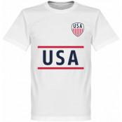 USA T-shirt Wordmark Vit XS