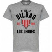 Athletic Bilbao T-shirt Bilbao Established Grå XXXL