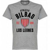 Athletic Bilbao T-shirt Bilbao Established Grå XXXXL