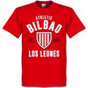 Athletic Bilbao T-shirt Bilbao Established Röd XS