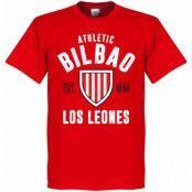 Athletic Bilbao T-shirt Bilbao Established Röd XXL