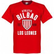 Athletic Bilbao T-shirt Bilbao Established Röd XXXXL
