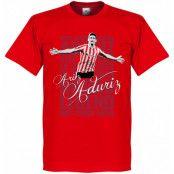 Athletic Bilbao T-shirt Legend Aduriz Legend Röd XS