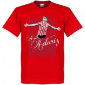 Athletic Bilbao T-shirt Legend Aduriz Legend Röd XXL