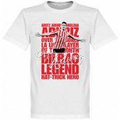 Athletic Bilbao T-shirt Legend Aduriz Legend Vit XXXL