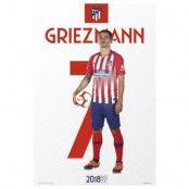 Atletico Madrid Affisch Griezman 64