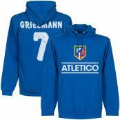 Atletico Madrid Huvtröja Atletico Griezmann No7 Antoine Griezmann Blå S