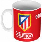 Atletico Madrid Mugg Griezmann 7 Antoine Griezmann Röd