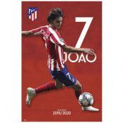 Atletico Madrid Poster Joao Felix
