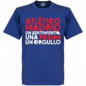 Atletico Madrid T-shirt Atletico Motto Blå S