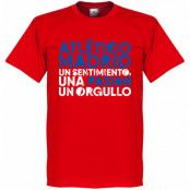 Atletico Madrid T-shirt Atletico Motto Röd XS