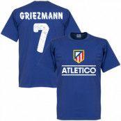 Atletico Madrid T-shirt Atletico Team Griezmann Antoine Griezmann Blå S