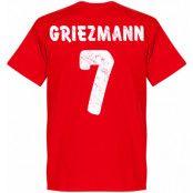 Atletico Madrid T-shirt Atletico Team Griezmann Antoine Griezmann Röd XS