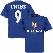 Atletico Madrid T-shirt Atletico Team Torres Fernando Torres Blå S
