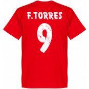 Atletico Madrid T-shirt Atletico Team Torres Fernando Torres Röd XS