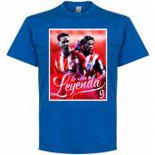 Atletico Madrid T-shirt Legend Torres Atletico Legend Fernando Torres Blå S
