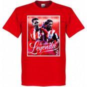 Atletico Madrid T-shirt Legend Torres Atletico Legend Fernando Torres Röd XS