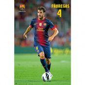 Barcelona Affisch Fabregas 25