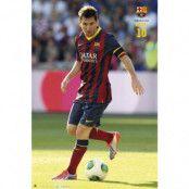 Barcelona Affisch Messi 102