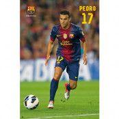 Barcelona Affisch Pedro 58