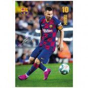 Barcelona Poster Messi