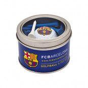 Barcelona golfboll och peggar