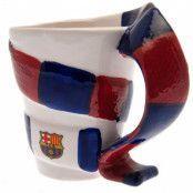 Barcelona 3D Scarf Mugg