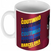 Barcelona Mugg Coutinho Portrait Philippe Coutinho Multi Coloured