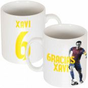 Barcelona Mugg Gracias Xavi Xavier Hernandez i Creus Vit
