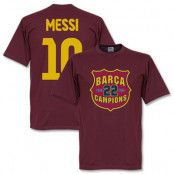 Barcelona T-shirt Messi Champs S